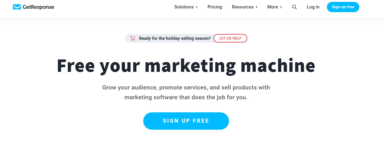 GetResponse email marketing tool