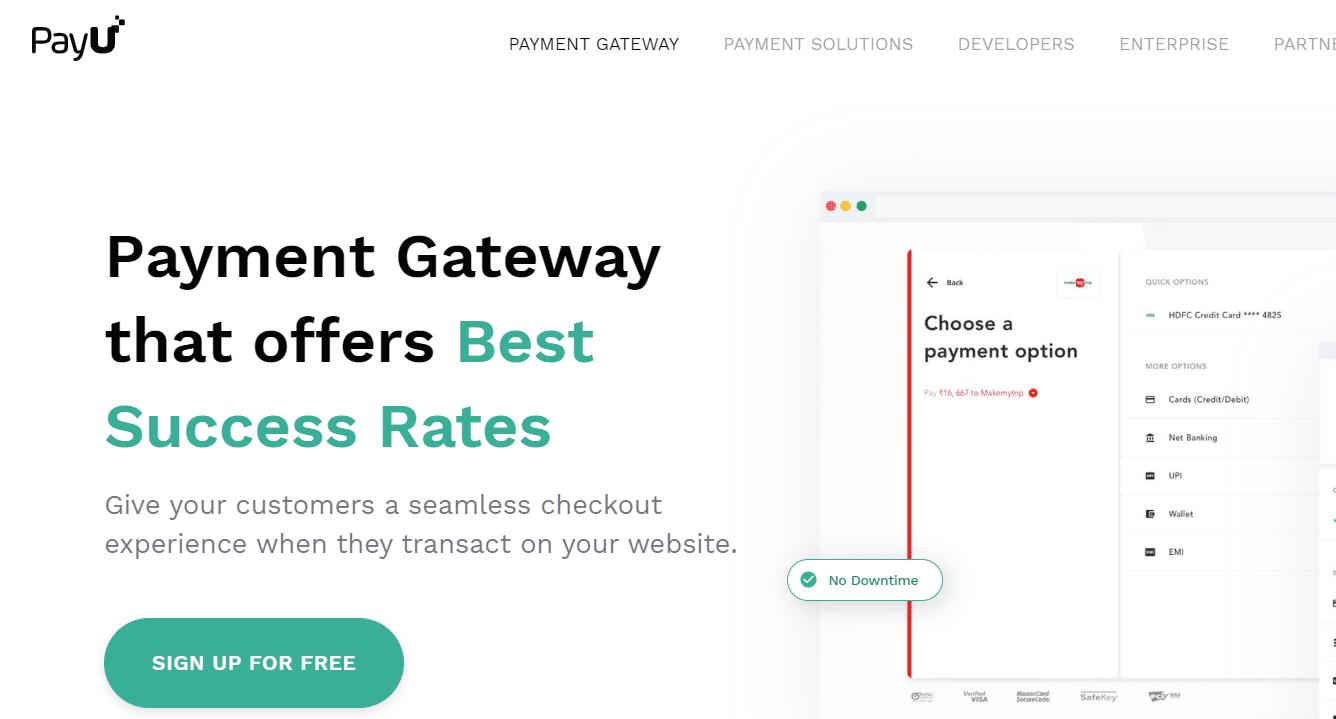 pay u money payment gateway