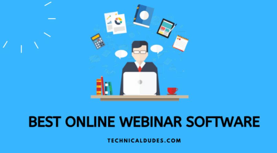 Top 10 best online webinar software platform 2020 - Comparison & Review