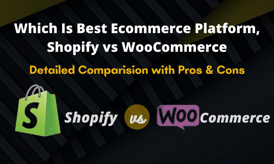 Best ecommerce plateform