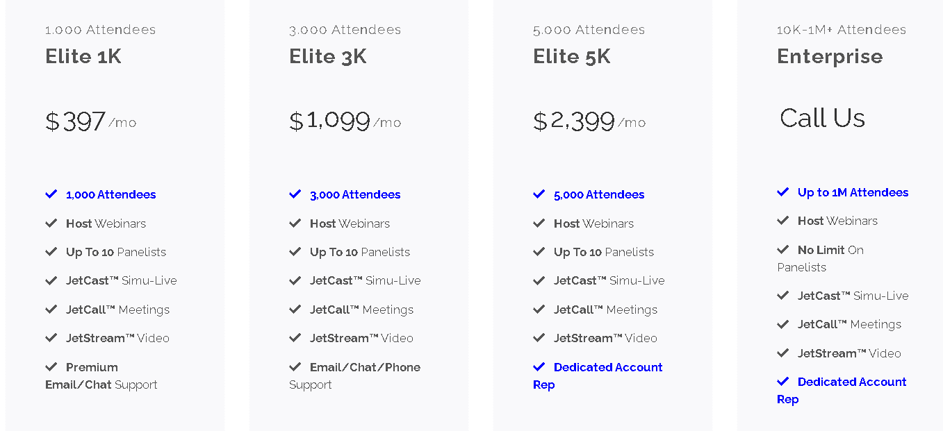 jetwebinar software pricing
