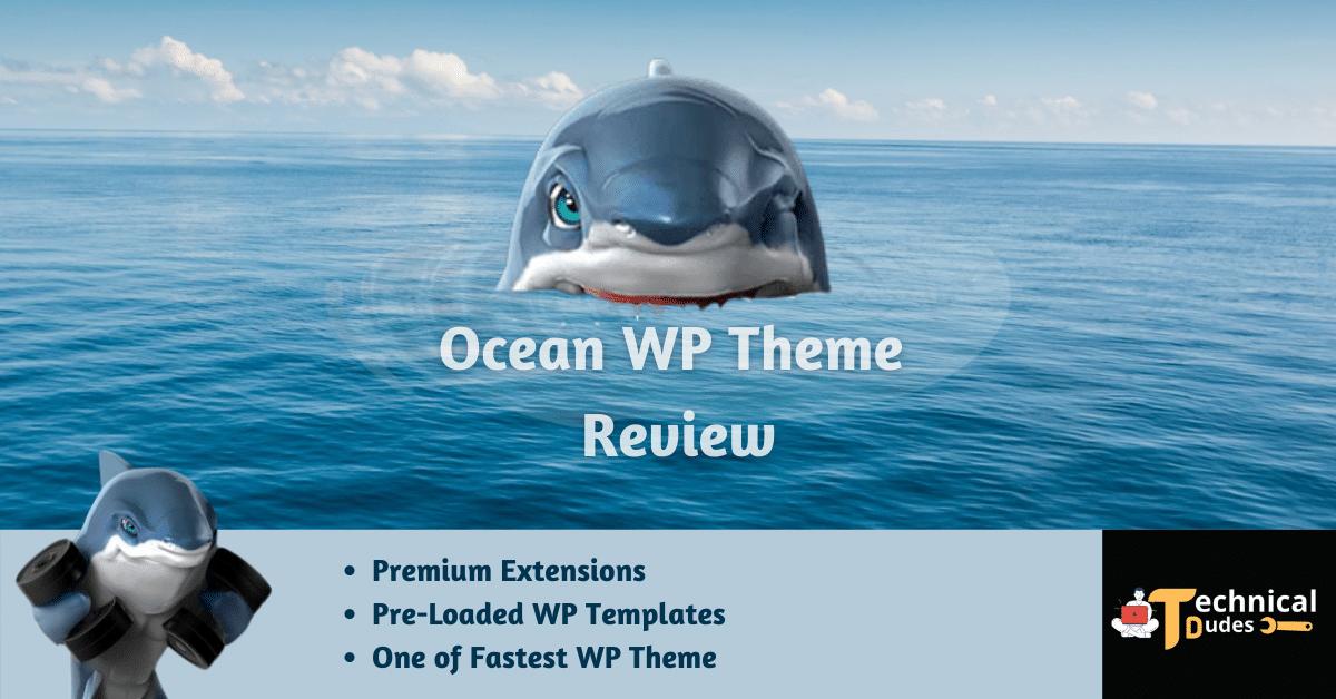 Ocean WP wordpress theme